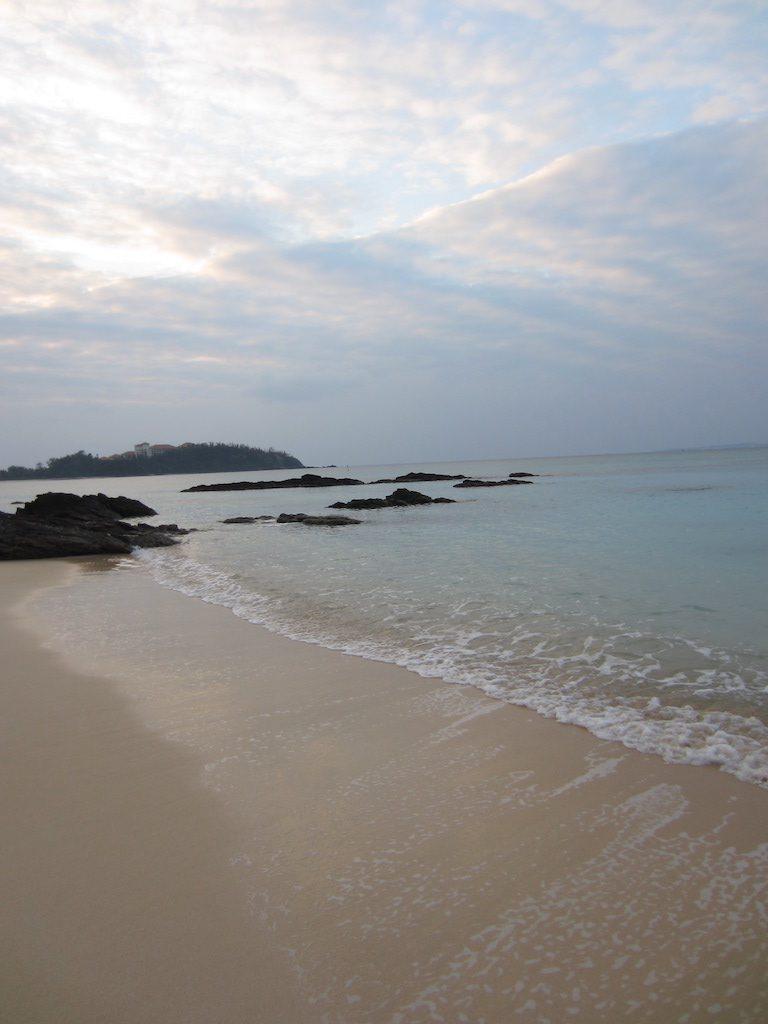 Strand bei Cape Zanpa